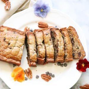 Unbelievable Vegan Chocolate Chip Banana Bread