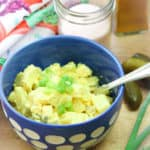 Amazing Curried Vegan Potato and Tofu Salad https://www.veganblueberry.com