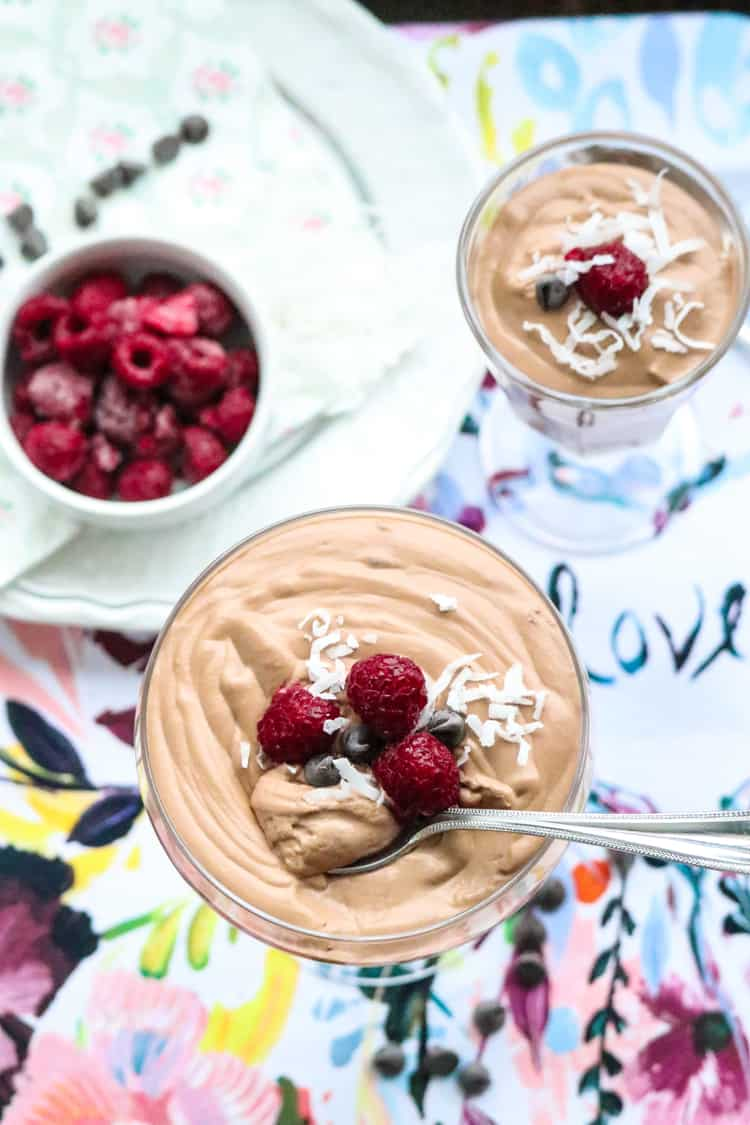 Easy Vegan Chocolate Mousse (with Aquafaba)