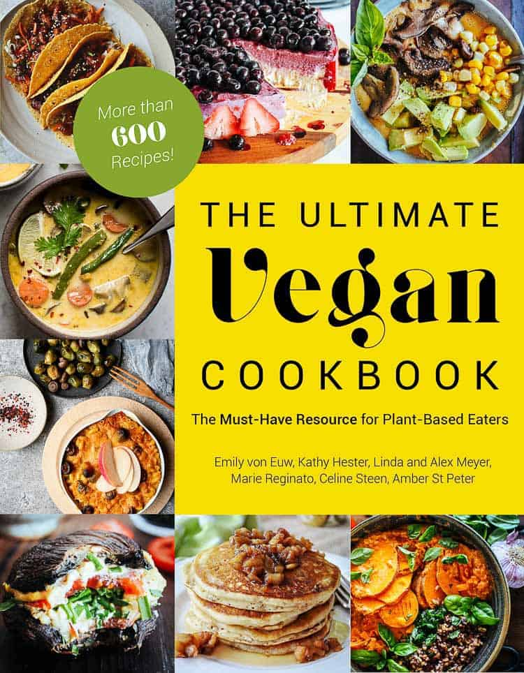 overhead shot of cookbook cover