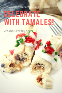 vegan tamale pinterest graphic