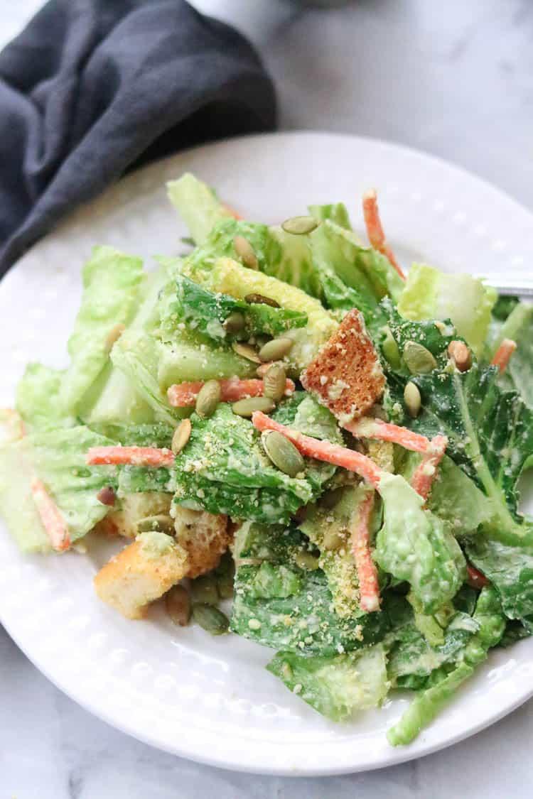 Mexican Vegan Caesar Salad